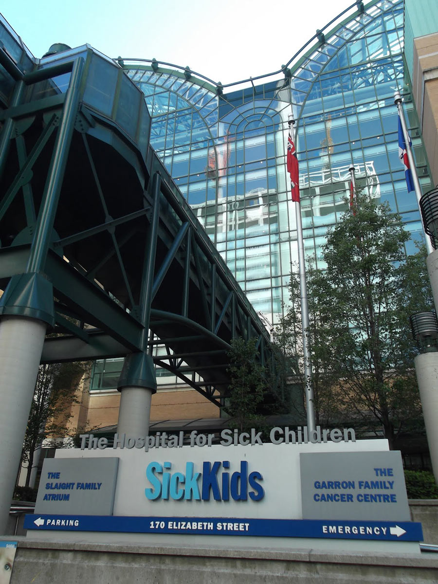 SickKids Hospital in Toronto, ON